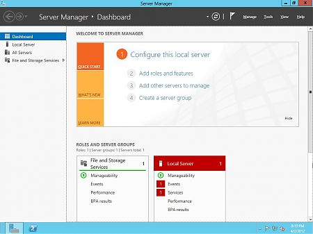 Windows 8 Server Beta